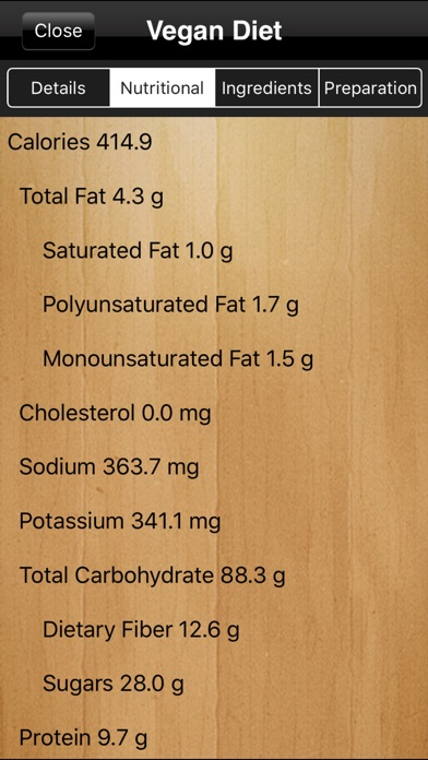 Vegan Diet Pro review screenshots