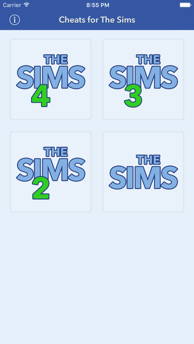 Cheats for The Sims screenshot one