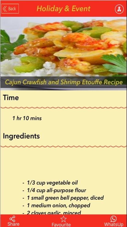 5000+ Holiday&Event Recipes screenshot-4