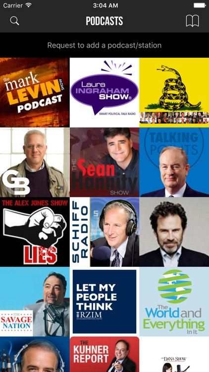 Conservative Talks Radio - Top Shows