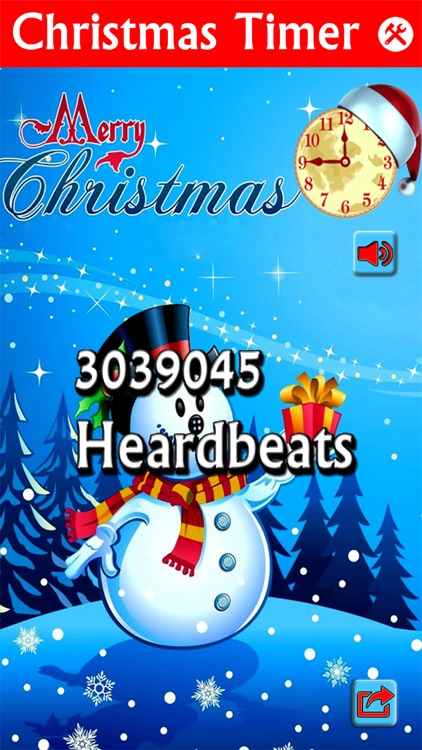 Christmas Counter.2016 Christmas Clock Countdown Timer Snow Globe Xmas Day Counter By Numan Ali