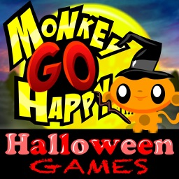 Monkey GO Happy Halloween Games