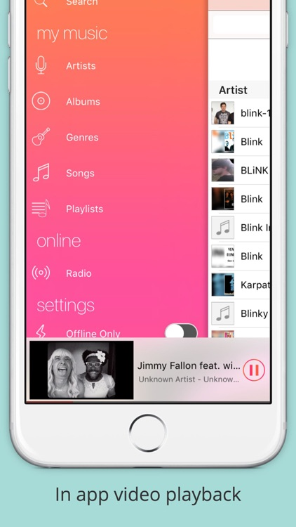 gMusic:  a Music Player for Google screenshot-4