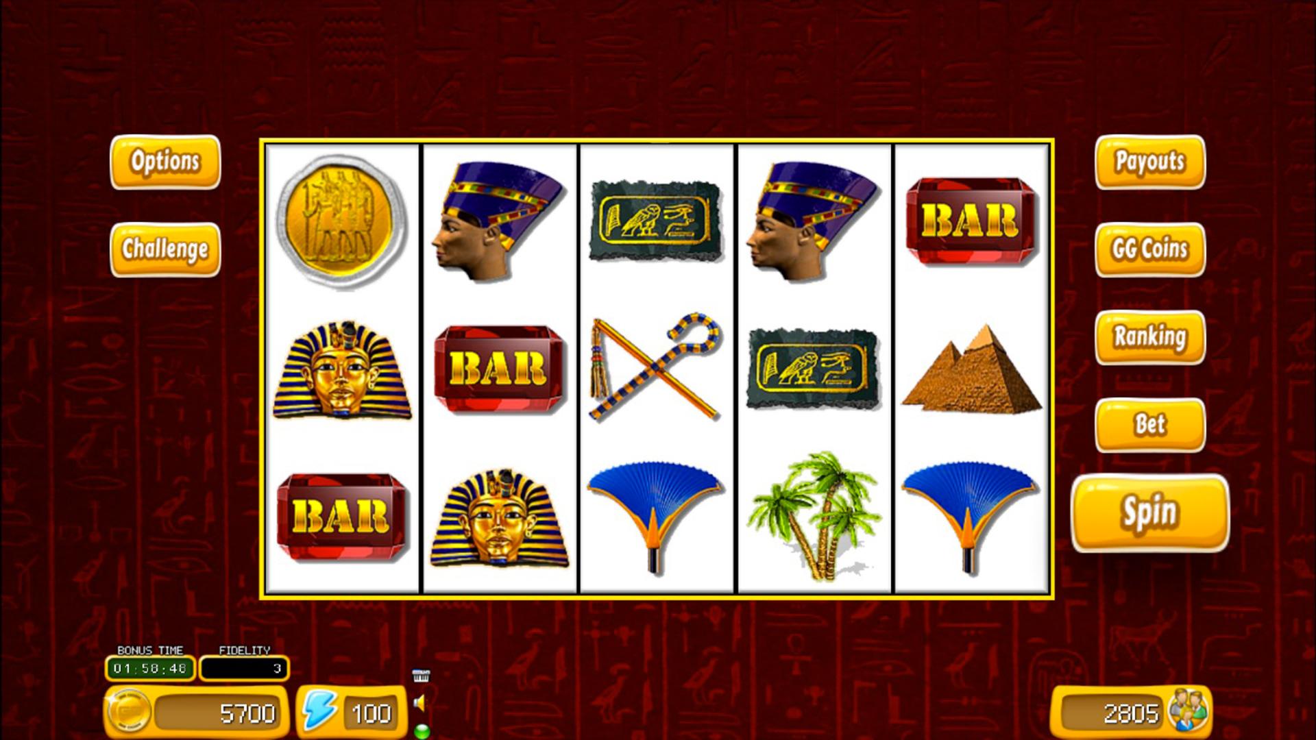 Sphinx Slot Simulator screenshot 1