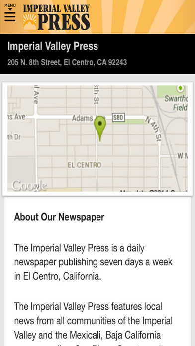 Imperial Valley Press News screenshot four