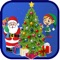 Lets you decorate your very own Christmas tree with colorful lights