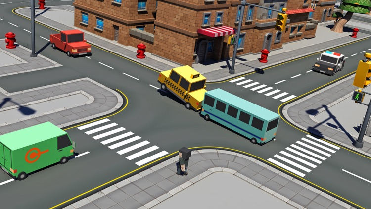 Four Cross traffic racer simulator screenshot-2