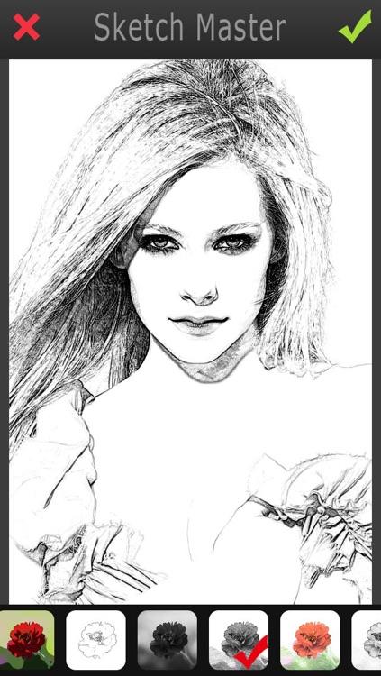 Sketch Master 2 - My Cartoon Brighten Yourself Portrait Photo