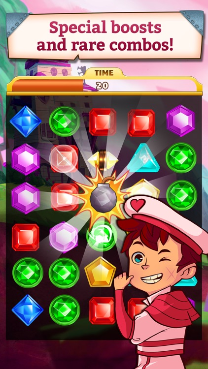 Jewel Mania: Valentine's screenshot-2