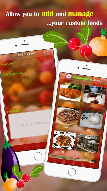Japanese Food Recipes screenshot-4