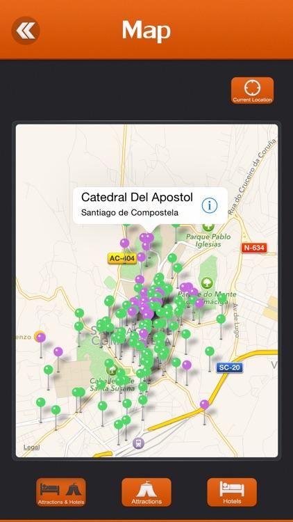 Santiago de Compostela Tourism Guide screenshot-3