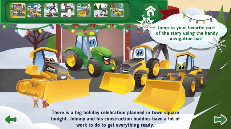 Johnny Tractor and Friends: Snow Day screenshot-0