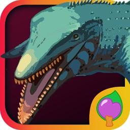 水長竜育成ゲーム-ココの恐竜時代海中探検 : 水長竜の世界