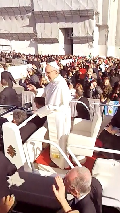 VR Virtual Reality press360 Papal inauguration of Pope Francis screenshot-1