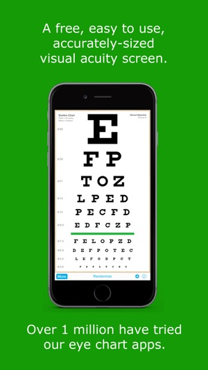 EyeChart - Vision Screening on the App Store