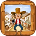 Cowboy Gunslinger Town - The New Gun Shooter Free Game icon