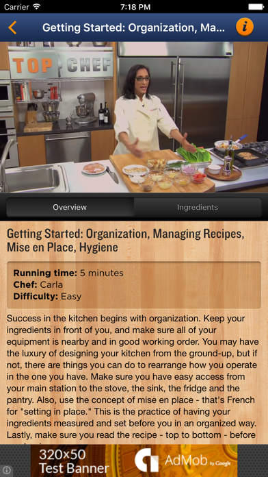 Top Chef University To-Go screenshot