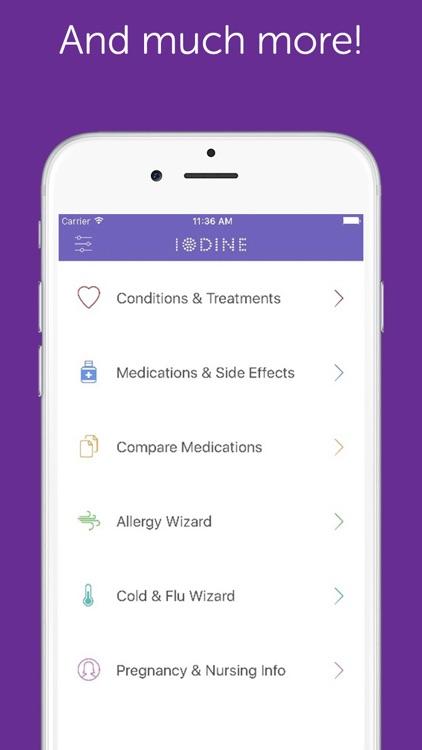Iodine - Drug Reviews, Health Information, Treatment Comparisons screenshot-3