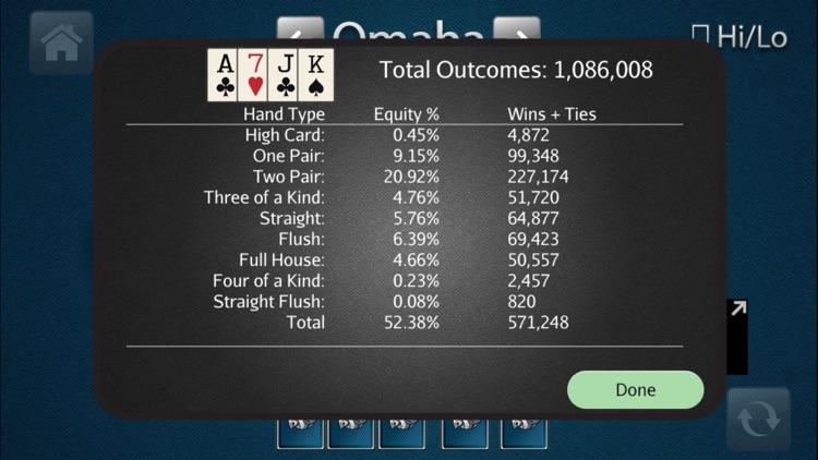 HORSE Poker Calculator