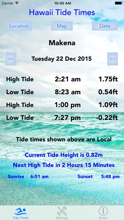 Hawaii Tide Times screenshot-4