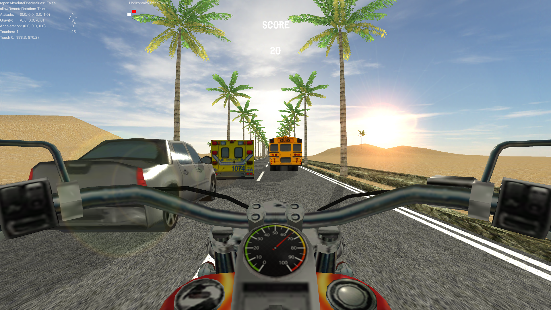 Biker Run screenshot 2