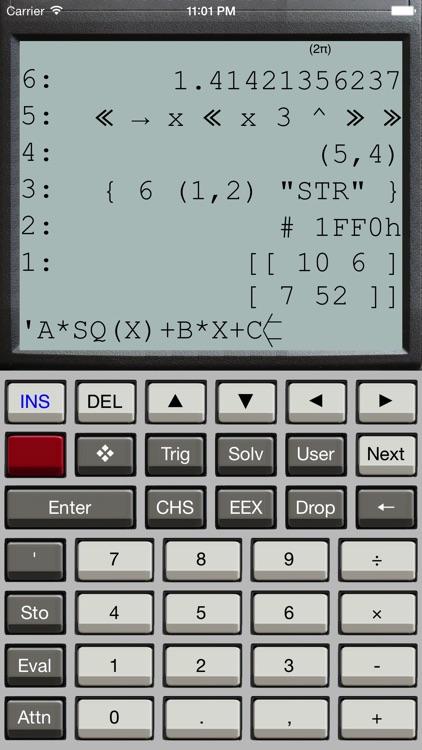 Halcyon Calc screenshot-0