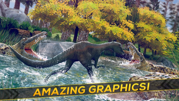 Dino Life . Jurassic Dinosaur Hopper Simulator Games For Free