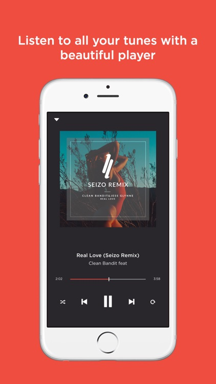 Jukebox - Free Offline Music Player for Dropbox (no ads, free forever)