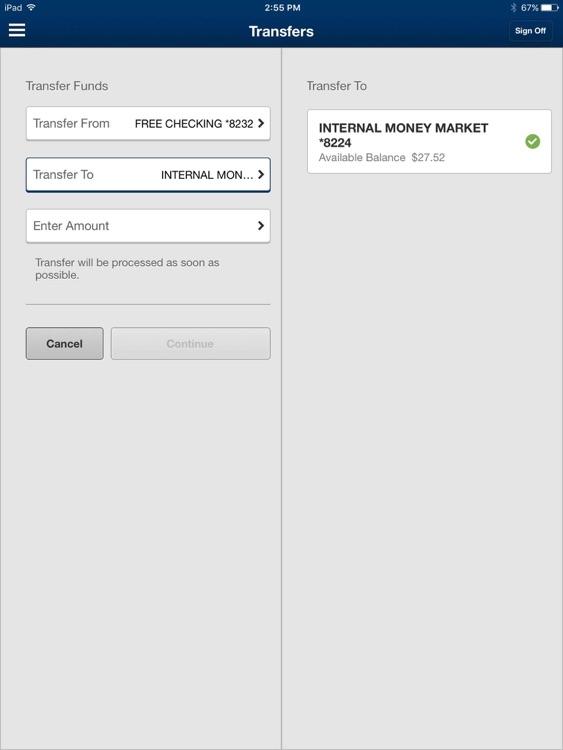 Eastern Bank Mobile for iPad screenshot-3
