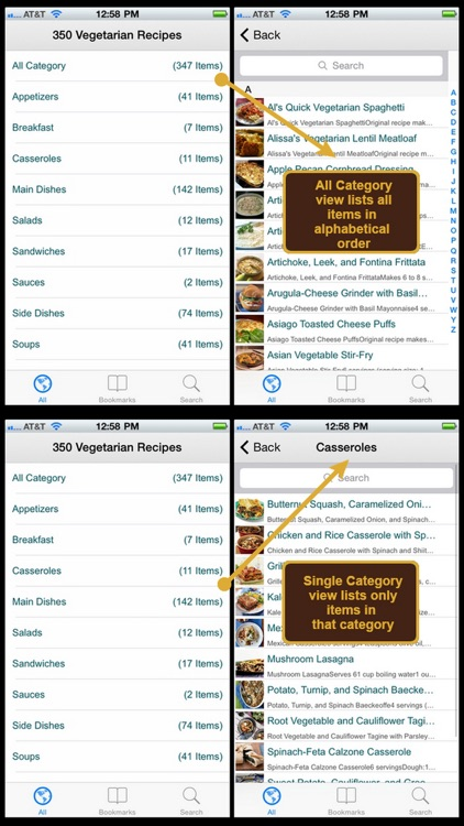 350 Vegetarian Recipes screenshot-3
