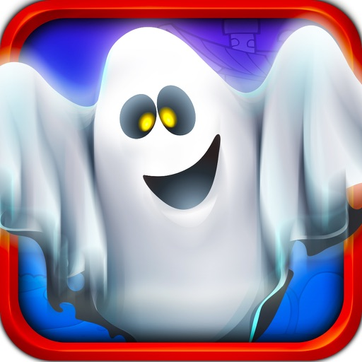 Haunted House Ghost Ride - Christmas Ride Party in Graveyard icon