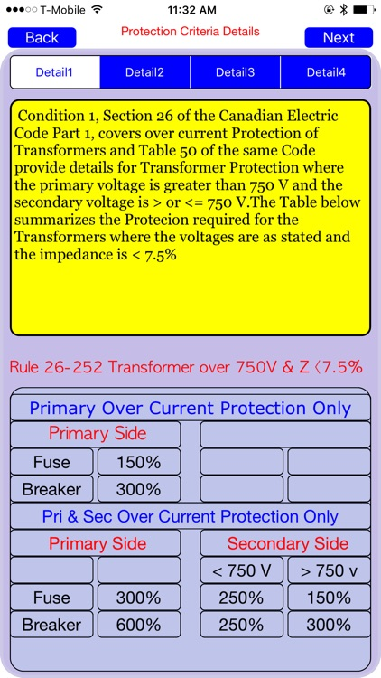 CEC TRANSFORMER PROTECTION screenshot-0