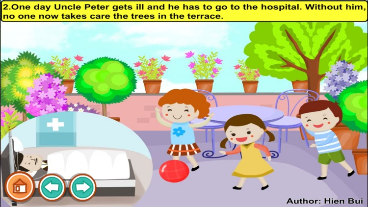 A good work in the garden (story and games for kids)