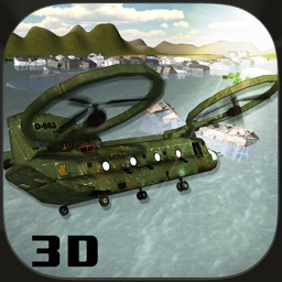 Rescue Pilot Flying Helicopter 3D Flight Sim