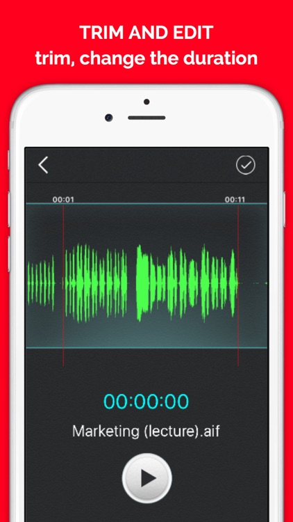 QuickVoiceEx - Voice Recorder, Audio Memos