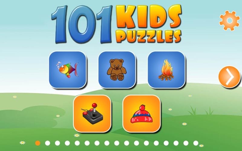101 Kids Puzzles screenshot 1