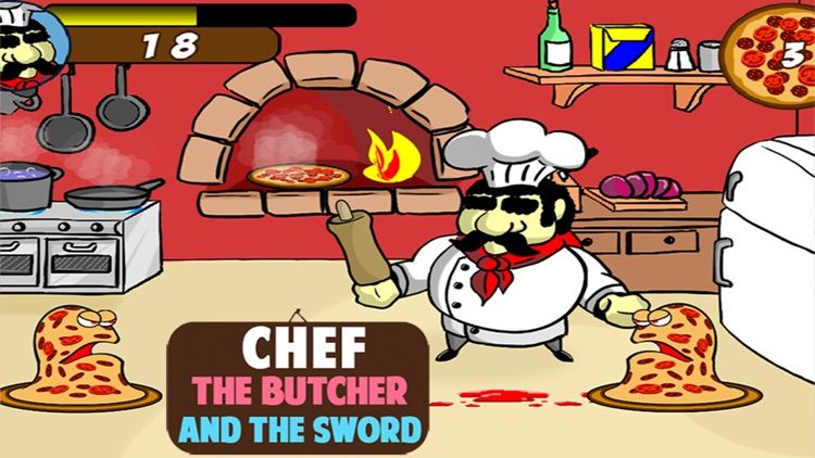 Chef the butcher and the Sword