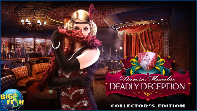 Danse Macabre: Deadly Deception - A Mystery Hidden Object Game (Full) screenshot-4