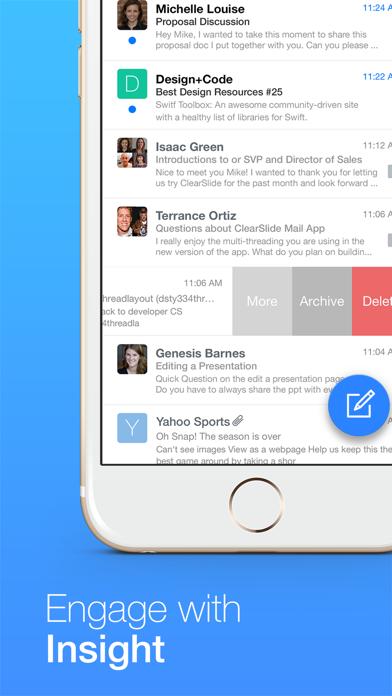 ClearSlide Mail screenshot