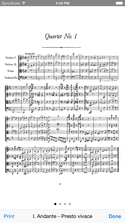 Schubert String Quartets screenshot-3