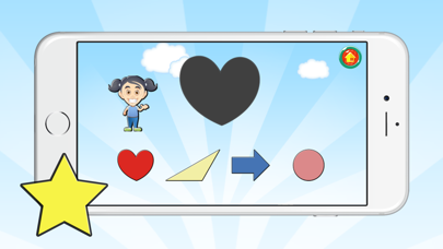 English Vocabulary Learning Shape Games For Kids screenshot two