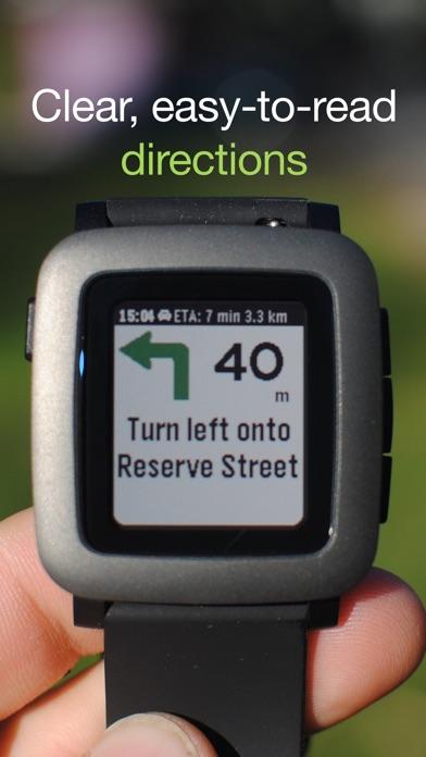 MapsGPS for Pebble - ... screenshot1