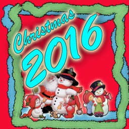 2016 Christmas & New Year Customize Card Frame