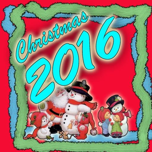 2016 Christmas & New Year Customize Card Frame