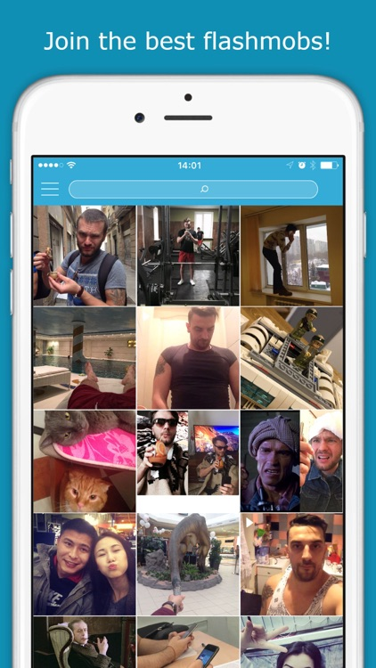 FlashMober – social network for flashmob