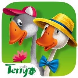 Сказки для детей: Два веселых гуся. Lite