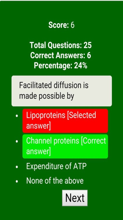 Anatomy & Physiology Review Quiz screenshot-1