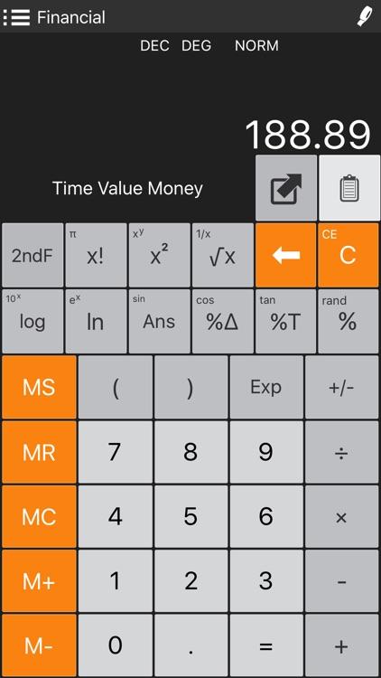 Financial Calculator + screenshot-4