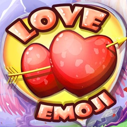 Love Emoji Stickers for Adult Messages & Email on Valentine's Day