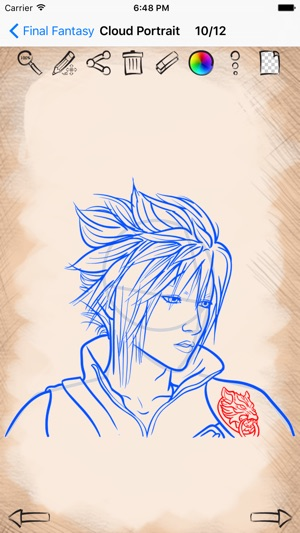 Drawing Anime Finalfantasy On The App Store